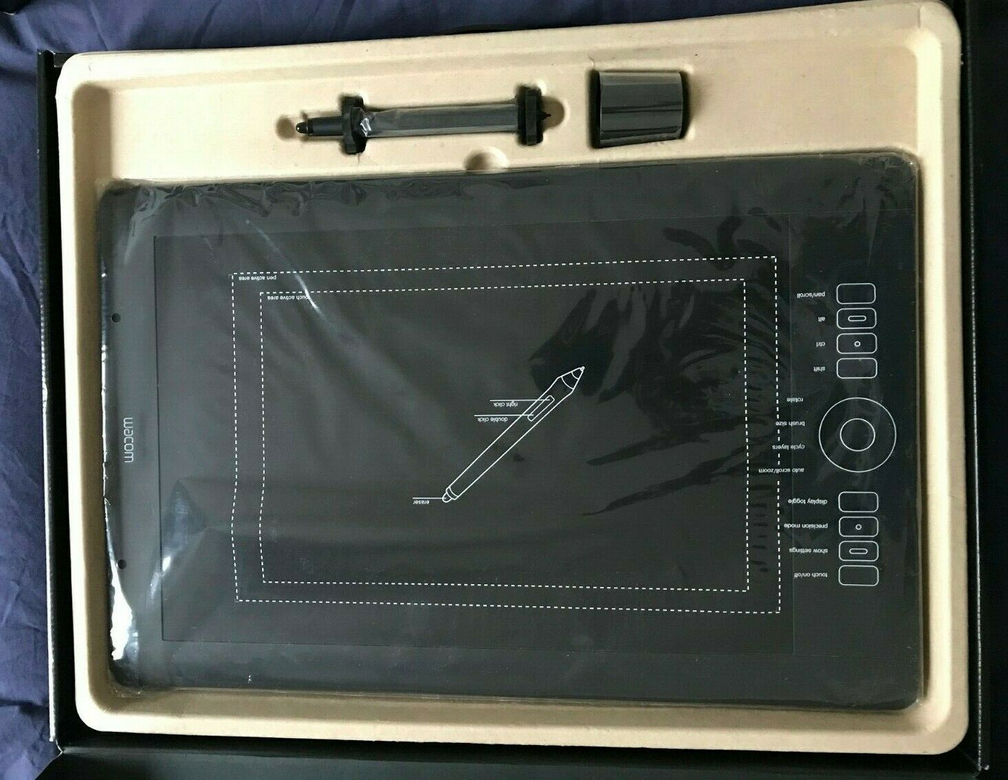 Tablette graphique wacom intuos 5 touch pth-850 -- a3 - grand format