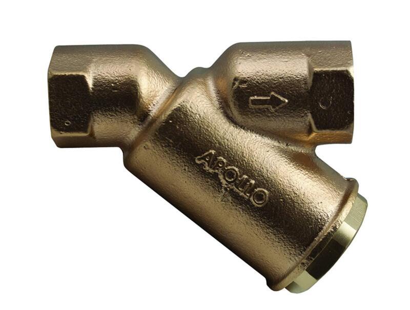 Apollo 5900501 1 inch 400# Lead Free Bronze 20 Mesh SS Y Strainer