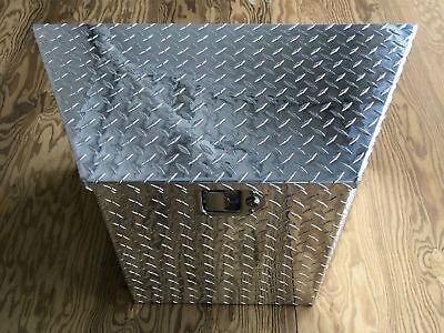 Triton 05031-1 Aluminum Diamond Plate Cargo Box