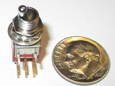 Ck T201 Sub-miniature Toggle Switch Dpdt On - On Pc Mount Nos 1 Pcs.