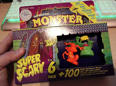 Monster in my Pocket Super Scary 6er Pack OVP 1992 originalverpackt