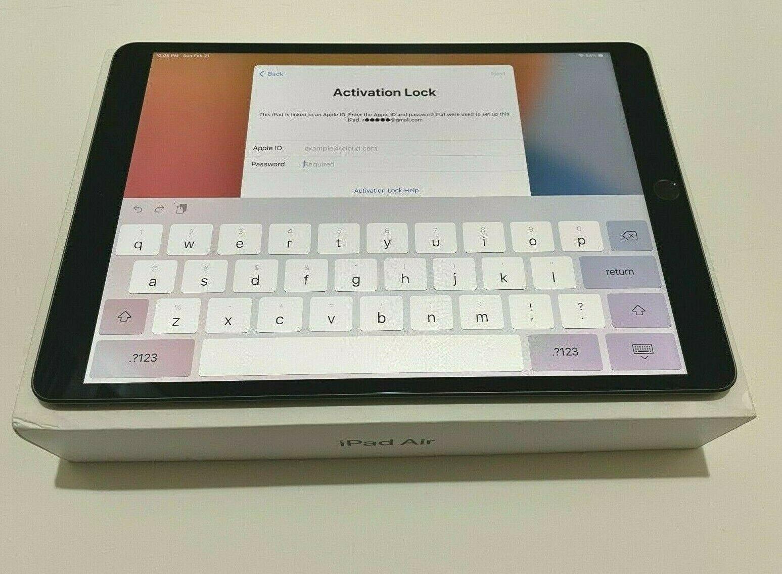Apple IPad Air 3rd Generation 64GB, Wi-Fi, 10.5in - Space Gray - $239.99