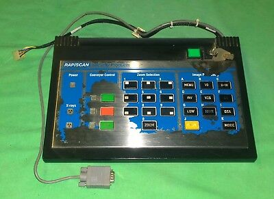 Rapiscan Ta66008eng519 Control Panel For 519 X-ray Scanner 2581