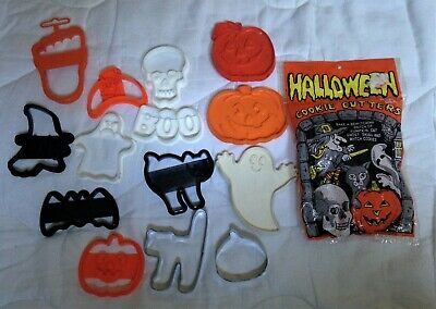 Vintage Halloween Cookie Cutters Collection Hallmark Wilton
