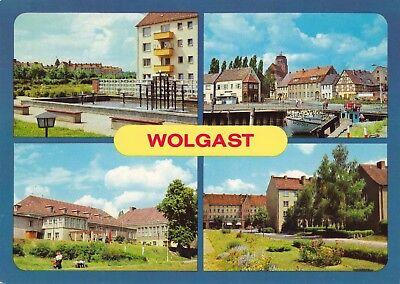Wolgast , ( DDR ) ,Ansichtskarte