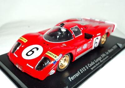 Fly 707101 Ferrari 512s Coda Lunga 24hrs Le Mans 1970 Brand 1/32 Slot Car