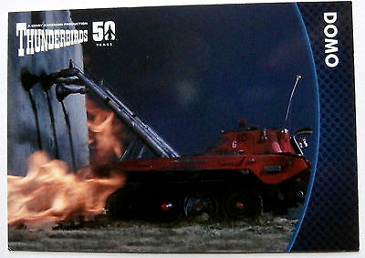 THUNDERBIRDS 50 YEARS - Card #47 - Gerry Anderson - Unstoppable Cards Ltd 2015