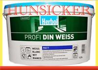 Herbol PROFI DIN weiss Wandfarbe Innenfarbe Dispersionsfarbe matt Berlin - Lichtenberg Vorschau