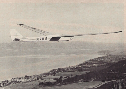 Vintage Giant Windfree Sailplane Plans, Templates and Instructions 99ws