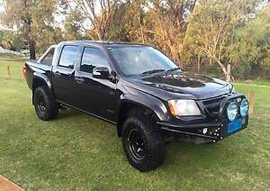 2009 Holden Colorado (4x4) RC MY09 LX Crew Cab Ute 4 Speed Auto Mullaloo Joondalup Area Preview