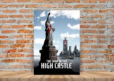 The Man In The High Castle TV Show Poster or Canvas Art Print - A3 A4 (The Man In The High Castle Tv Show)