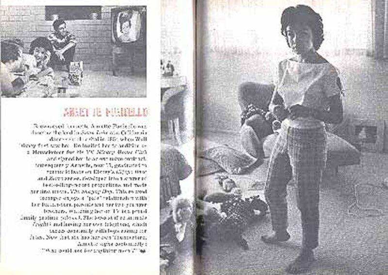 ANNETTE FUNICELLO at 17 1960 PICTORIAL ANNE BANCROFT STARDOM BOUND HAYA HARAREET