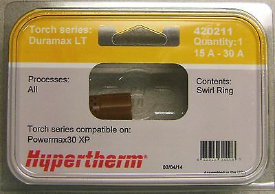 Hypertherm Genuine Powermax 30 Xp Swirl Ring 420211