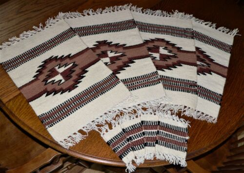 El Paso Saddle Blanket  set of 4 placemats and 4 coasters - western
