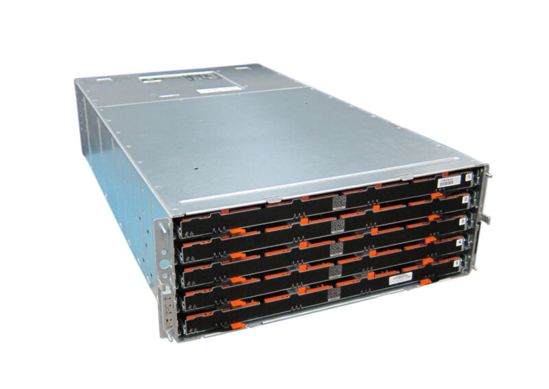 "Dell PowerVault MD3060e 60-Bay 3.5"" LFF 4U Enclosure - 2x Controllers/Fans/PSU"