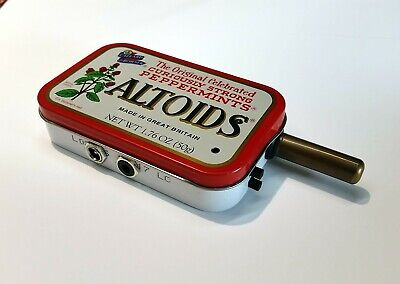 Miniature Radiation Detector - Small Pocket Size Geiger Counter In Altoids Tin