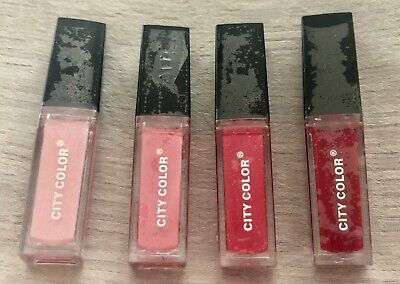 NEW City Color LED Light-Up Lip Gloss w/ Mirror (Sealed) - B2G1 Free, U Choose!
