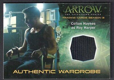 ARROW TV SERIES SEASON 2 (Cryptozoic 2015) WARDROBE COSTUME Card #M09 ROY - Arrow Tv Series Costume