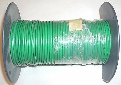 Machine Tool Wire 14 Gauge Electrical Wire Green W Broken Roll 5lb 5.2oz