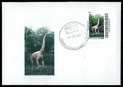Dinosaurier-custom (GERMANY DINOSAUR DINOSAURI DINOSAURIER - CUSTOM STAMP - ONLY 2 COVER MADE!! cp24)