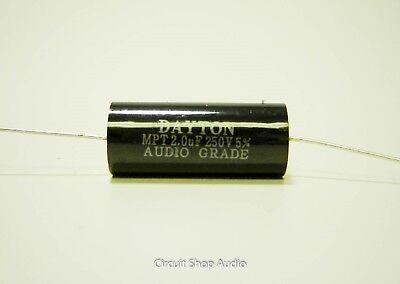 2.0 Uf 250 Volt Speaker Crossover Audio Polypropylene Capacitor - Bass Blocker