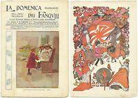 La Domenica Dei Fanciulli N.6 - Febbraio 1909_paravia - Ill. Mussino - Ottima -  - ebay.it