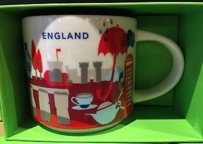Discount Cups (Discount! Starbucks England Mug Cup YAH You are here City London Display Sample)