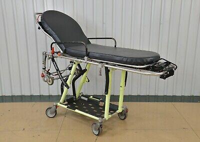 Ferno Proflexx 93-p Ambulance Stretcher Cot Ems Emt W Black Mattress