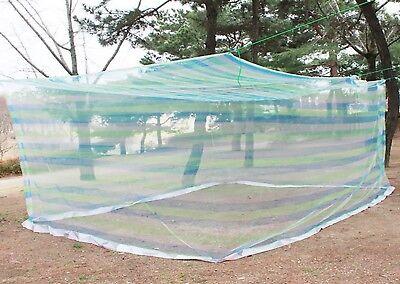 Korea Outdoor Mosquito Net Yard Garden Military For 9-10 Presons & String