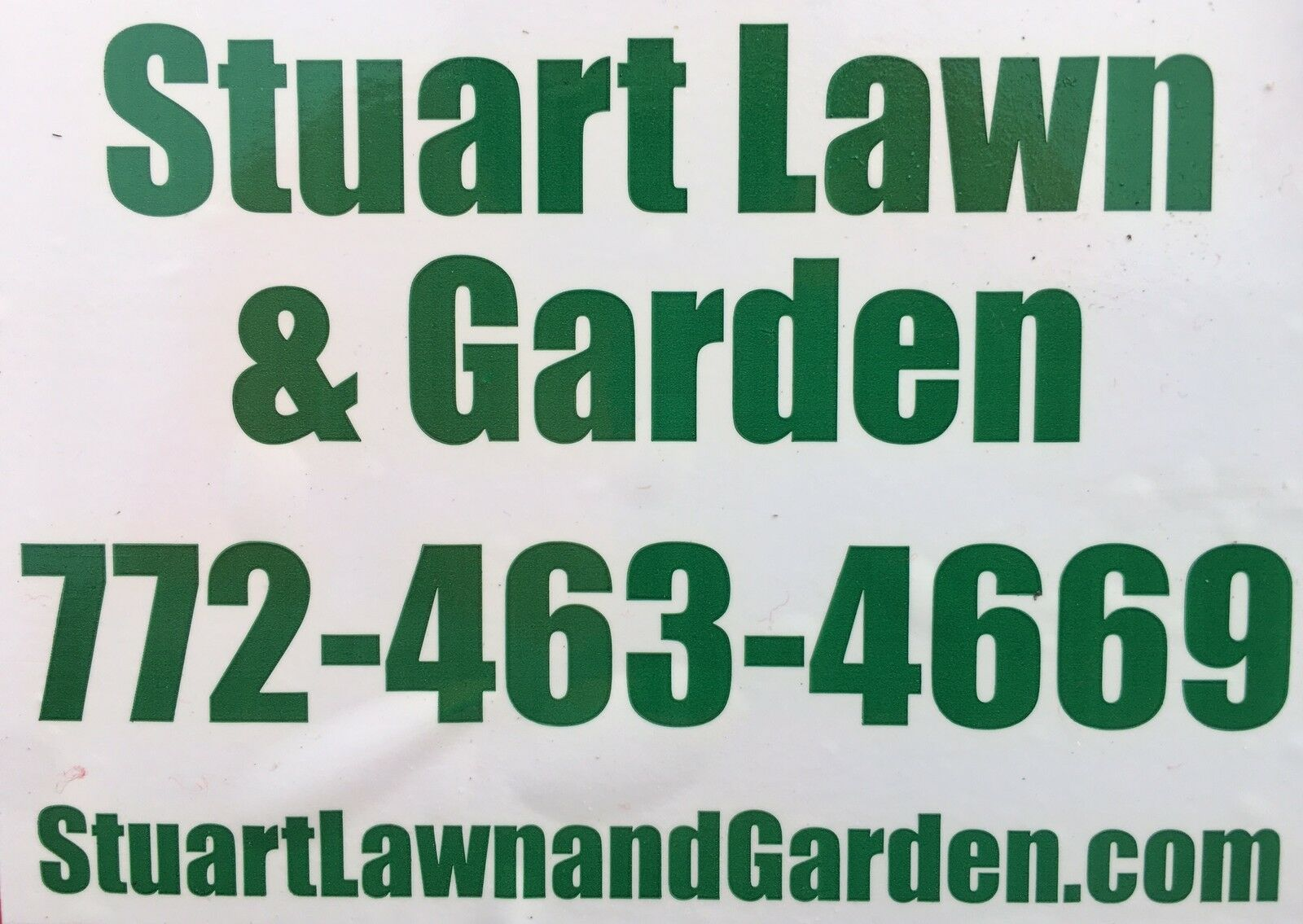 Stuart Lawn and Garden