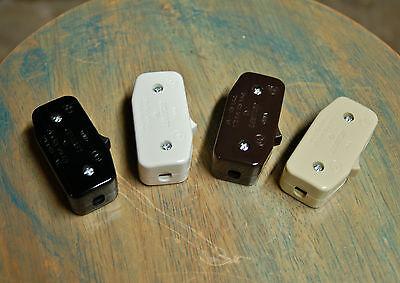 Inline Cord Switch - Leviton Rocker Style Feed Thru Switch,