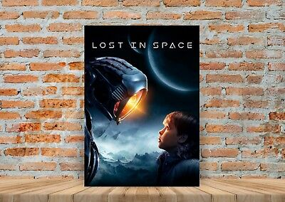 Lost In Space TV Show Poster or Canvas Art Print - A3 A4