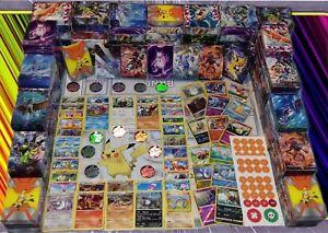 Lot-de-100-Cartes-Pokemon-Neuves-Francaises-Cadeaux-Lisez-les-Details