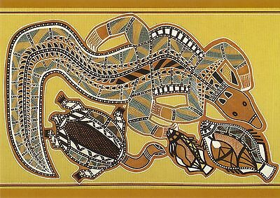AK Aboriginal Art: Rindenmalerei X-Ray, Australien