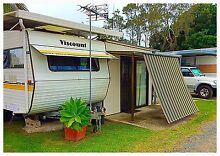Onsite semi permanent caravan. Manning Point NSW Manning Point Greater Taree Area Preview