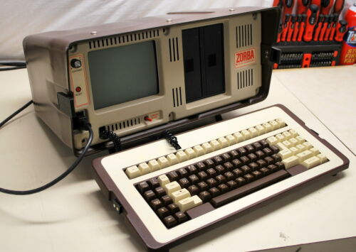 Rare Zorba Luggable Computer  - ships worldwide!