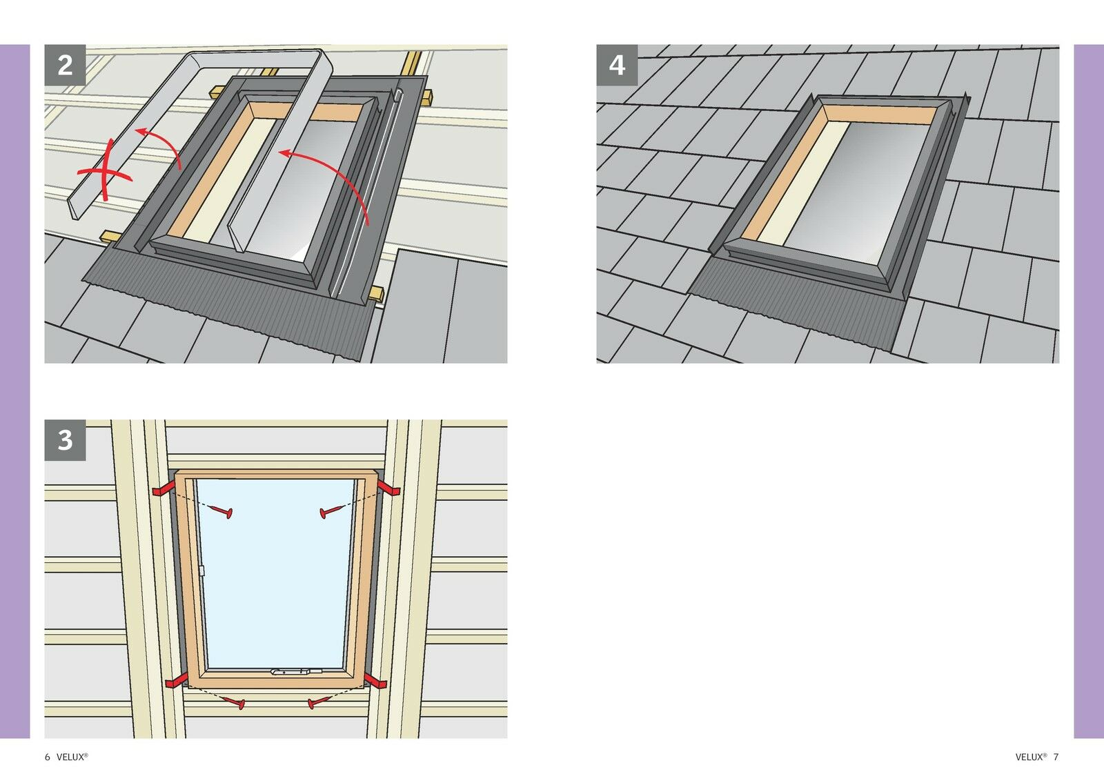 New Velux Vlt Access Roof Window 45x73cm Loft Rooflight