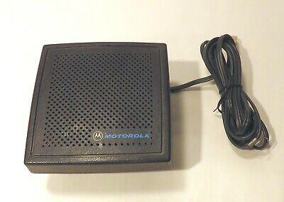 Motorola Hsn6001a External Speaker With Mounting Bracket  Fire Police Ems Radio