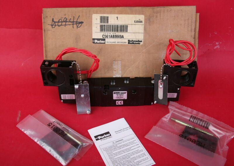 Parker Pneumatic Control/Process Valve NEW IN BOX C561ABM49A