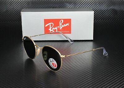 RayBan RB3447 112/58 MATTE GOLD POLARIZED GREEN 50 mm Men's (Rb3447 Matte Gold)