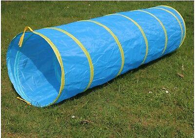 XXL Kriechtunnel 180cm lang Krabbeltunnel für Kinder ab 2 Spieltunnel Outdoor ()