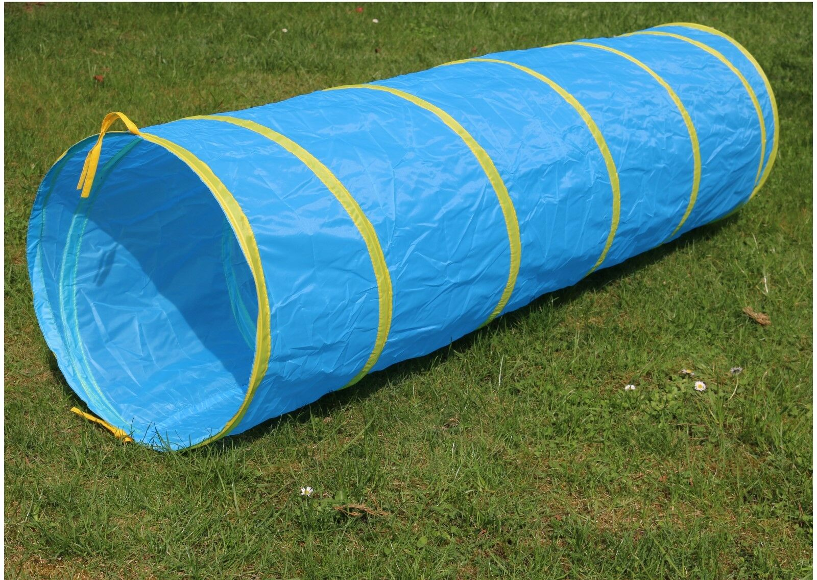 XXL Kriechtunnel 180cm lang Krabbeltunnel für Kinder ab 2 Spieltunnel Outdoor