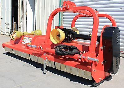 87 Flail Mower Mulcher Hydraulic Adjust Cat.iii 3pt 50hp Rating Fh-ag220