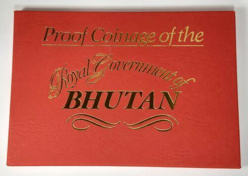 1979 Proof coin set from Bhutan