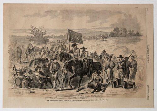 """""""FIRST VIRGINIA REBEL CAVALRY"""" Harper"""