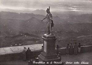 REPUBBLICA DI S. MARINO - Statua della Libertà 1953 - Italia - L'oggetto può essere restituito - Italia