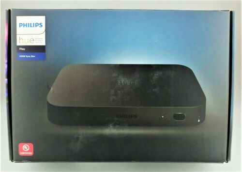 Philips Hue Play HDMI Sync Box 555227 Black In Box Good Shape