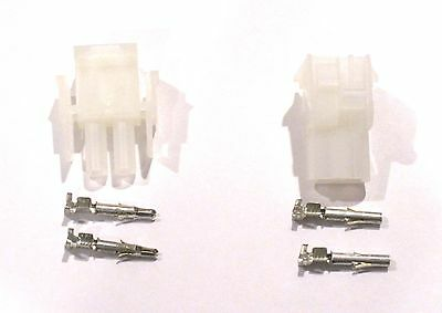 Molex Mlx Connector - Complete Molex 2 Wire Connector Set With Pins  3 Sets