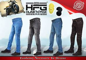 Motorbike Skinny Jeans with Protective Lining. Hunk'n'Fox Gears. Werribee Wyndham Area Preview