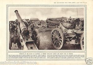 "Thessaloniki Artillery Convoi / Poilus Railway Ambulance WWI 14 18 PLANCHE 1916 - France - PORT GRATUIT A PARTIR DE 4 OBJETS BUY 4 ITEMS AND WORLDWIDE SHIPPING IS FREE EXCEPT USA, CANADA, AMERICA ONLY TRACKING MAIL PLANCHE 1916 RECTO-VERSO ETAT VOIR PHOTO FORMAT 28 CM X 20 CM SIZE : 11.02"" X 7.87 inch G.108.87. - France"
